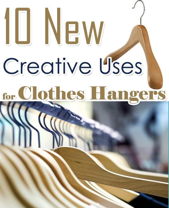 10 new creative uses for clothes hangers trusper for Creative clothes hangers