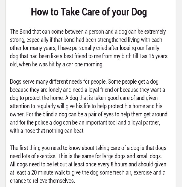 how to take care of your dog trusper