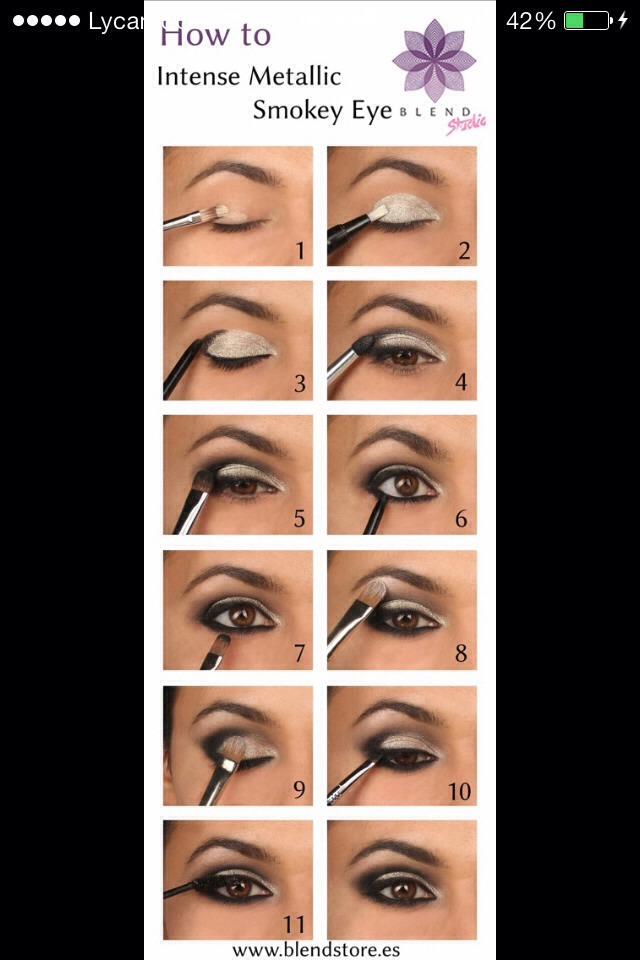 Easy Mattelic Smokey Eyes Tutorial