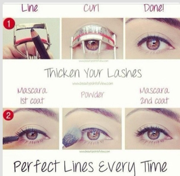 Get Those Perfect Eyelashes With This One Easy Trick