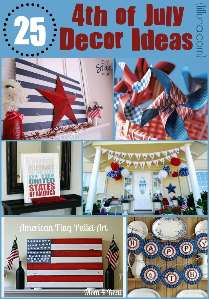 4th of july decor trusper for Decoration 4 july