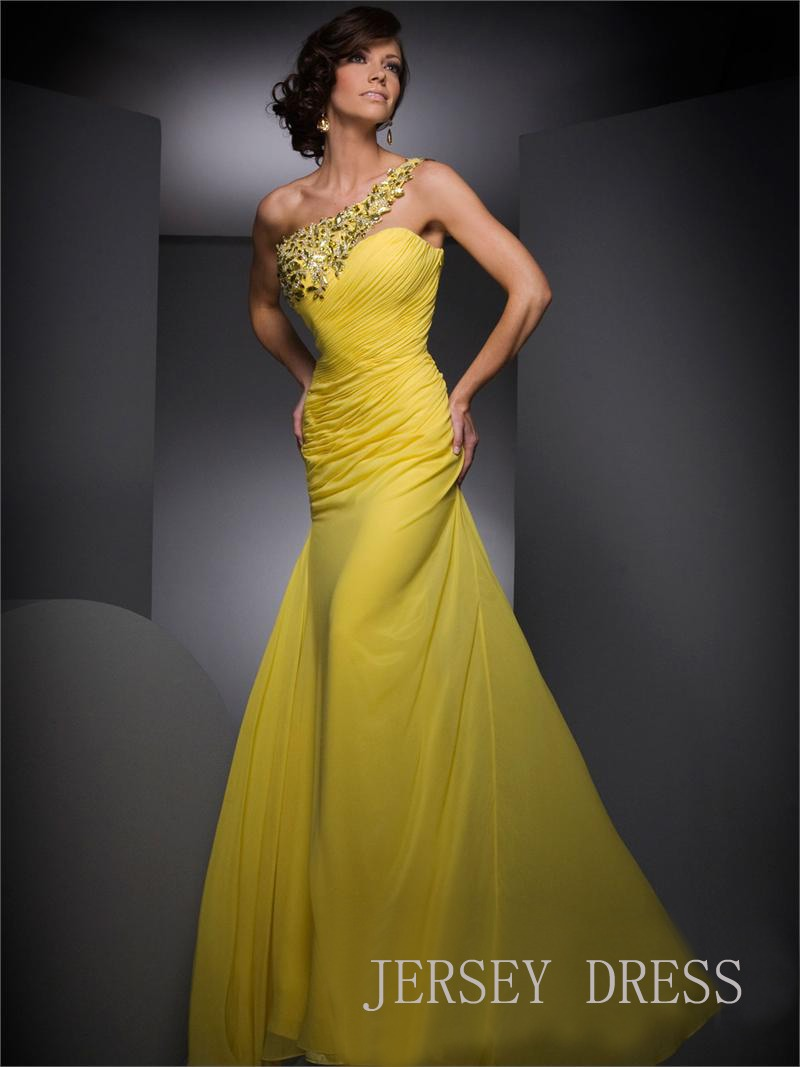Canary yellow wedding dresses for the non traditional for Wedding dresses in yellow