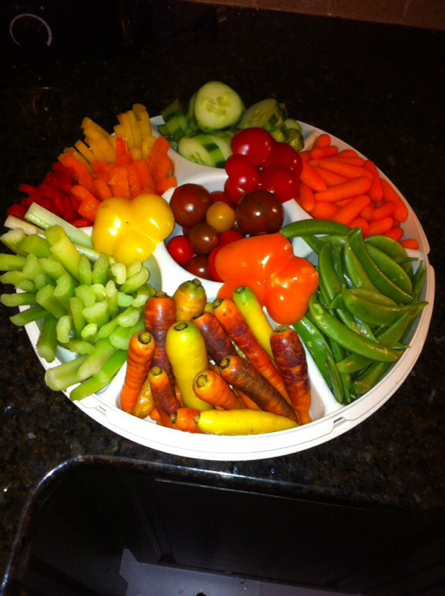 Awesome Fruit And Veggie Tray