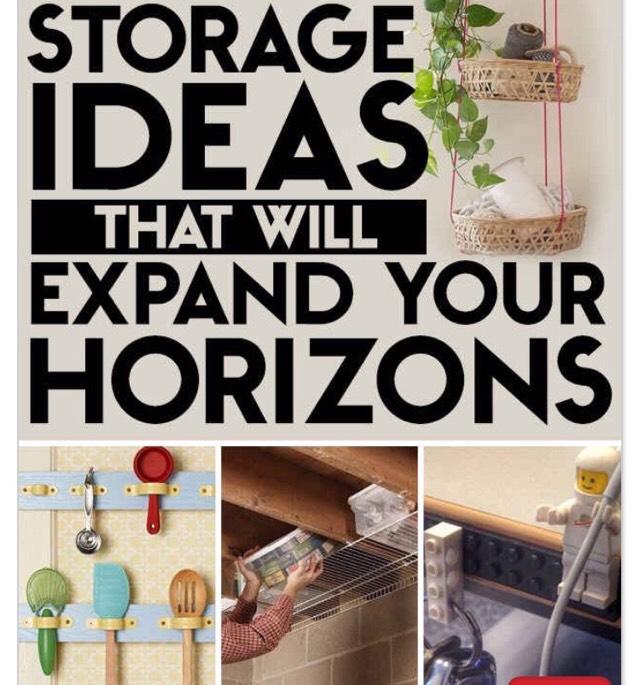 Amazing Storage Ideas!! Very Helpful!!
