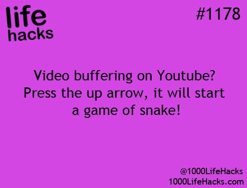 Awesome Life Hacks. 😀