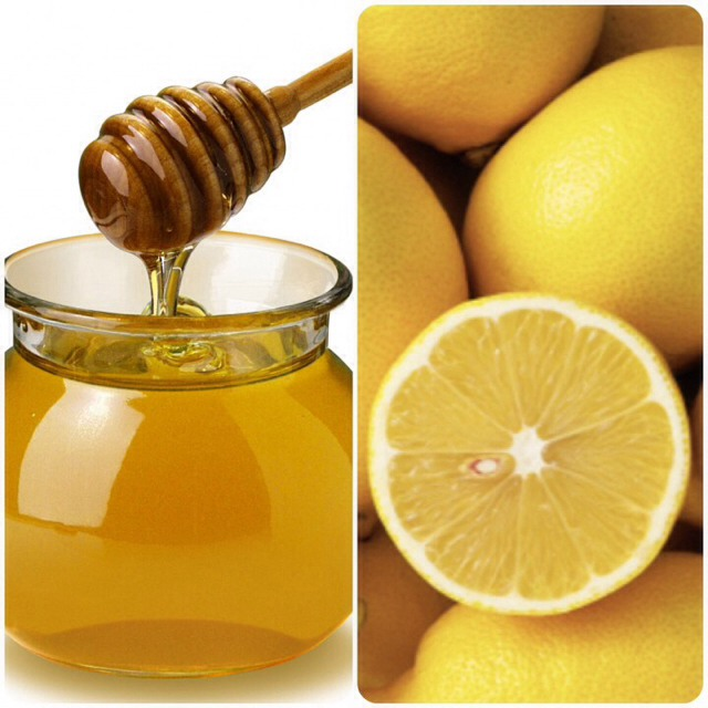 Honey & Lemon For Sore Throat
