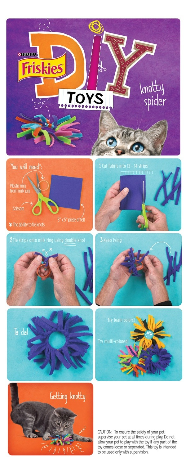 5 diy cat toys u can make from things around your house for Kitten toys you can make
