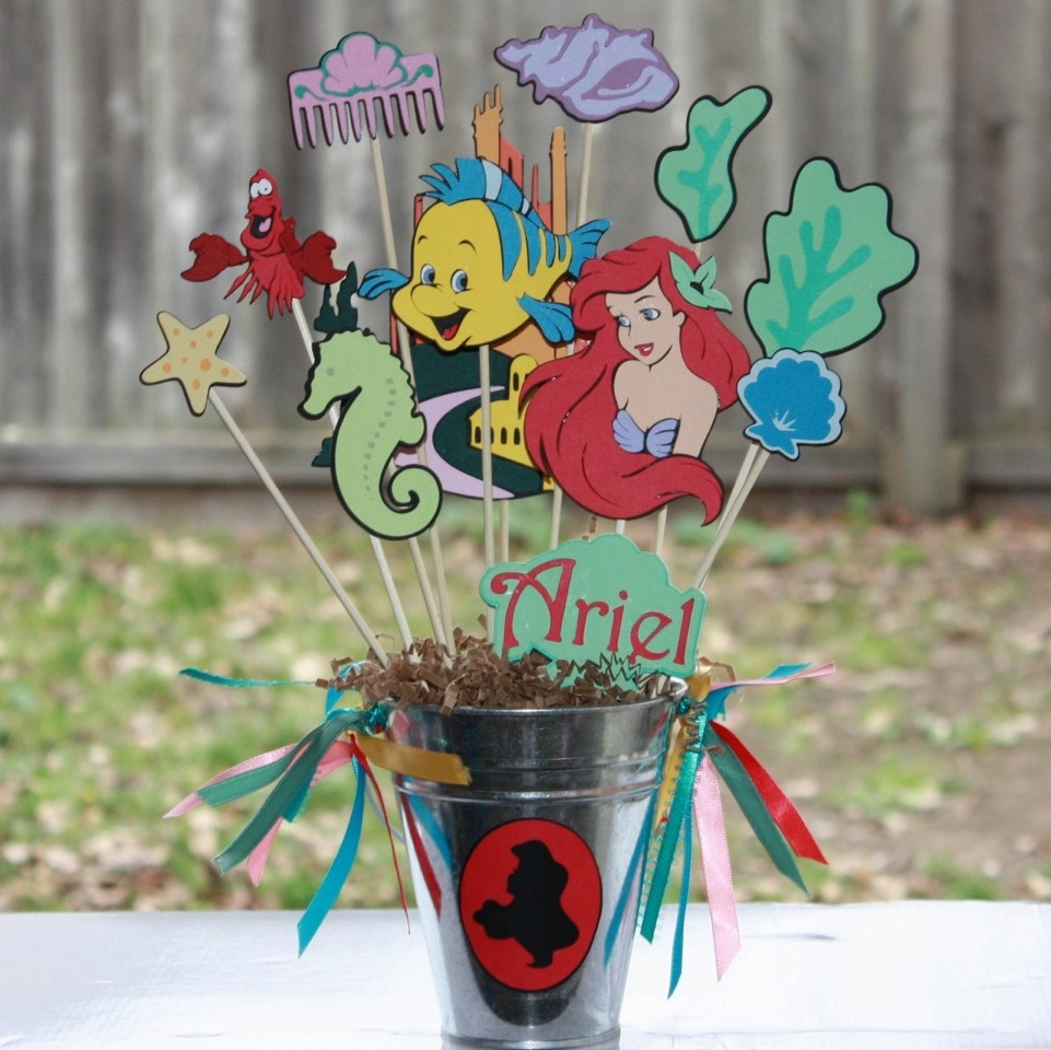 Little Mermaid Centerpiece Ideas Wedding: Little Mermaid Centerpieces Ideas For Bday Party's