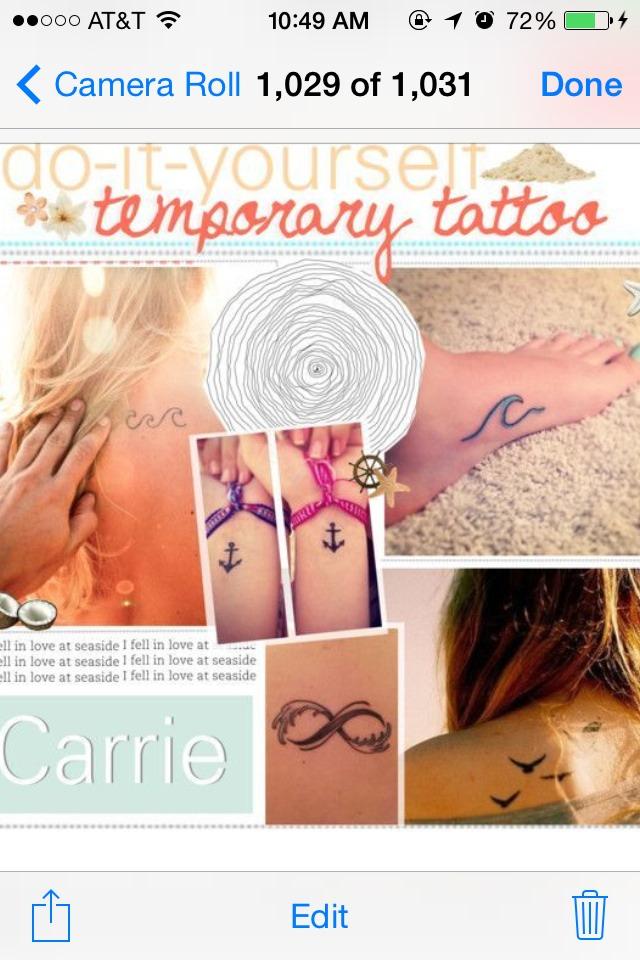 Diy temporary tattoos trusper for Temporary tattoos that last 6 months