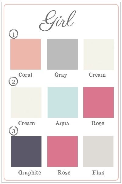 Bedroom Colors For Baby Girl: Girls Nursery Room Colours