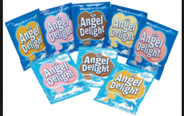 packet of your choose flavour angle delight and poor it into your ice ...