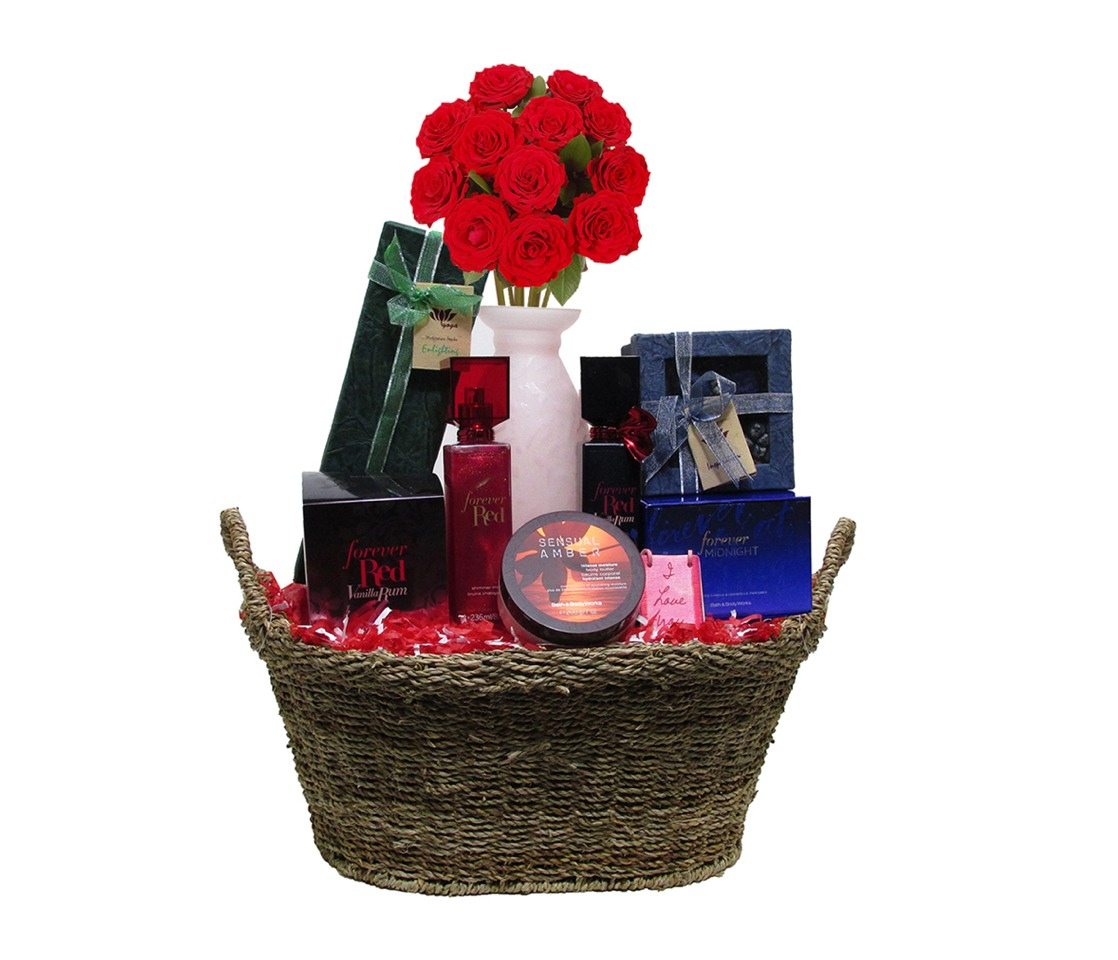 Bath And Body Works Christmas Baskets Basket Includes Bath And Body