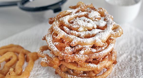 Fairground Funnel Cake Recipe