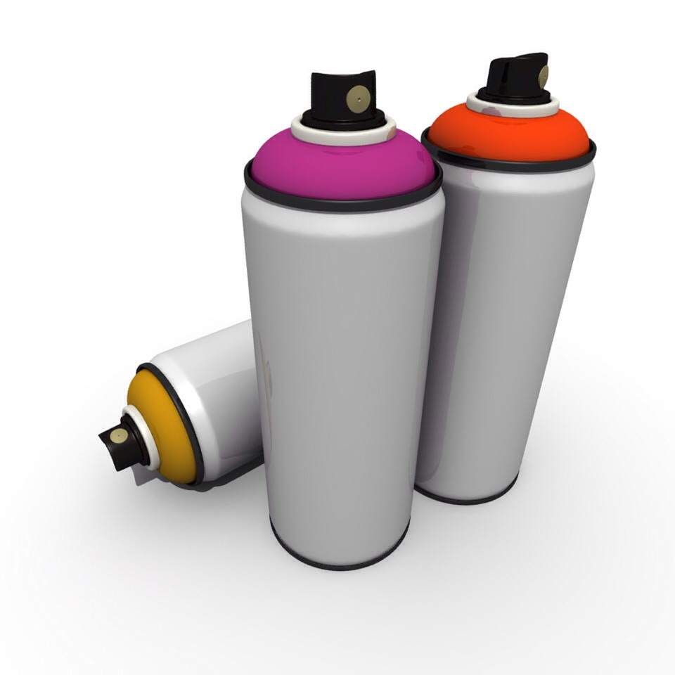 Make Your Own Spray Paint Trusper