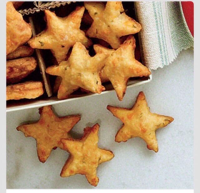 Savoury Parmesan Basil Cheddar Stars!