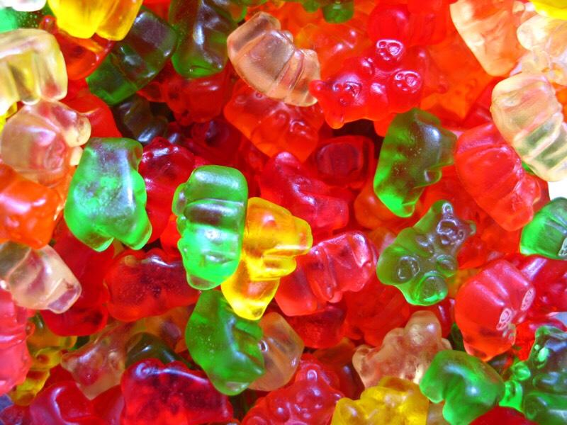 Gummy Bear Drink With Cherry Vodka