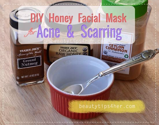 DIY Honey Facial Mask for Acne and Scarring💕💝💋