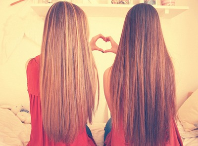 Long, Healthy Hair