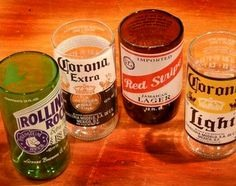 Beer bottle glasses trusper for How to make a lamp out of a glass bottle