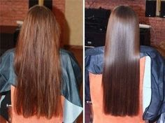 Soft And Repaired Hair