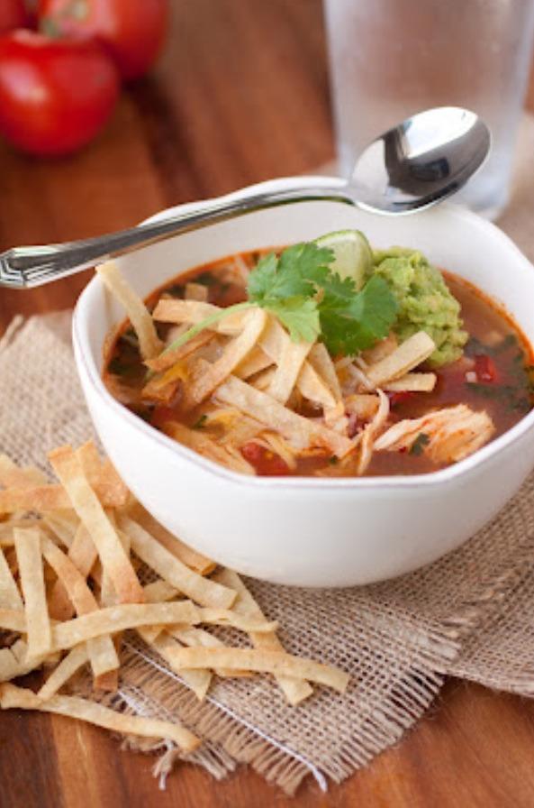 Slow Cooker Chicken Tortilla Soup | Trusper