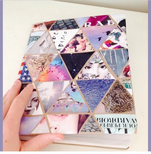 Decorate ur school notebook trusper for Back to school notebook decoration ideas