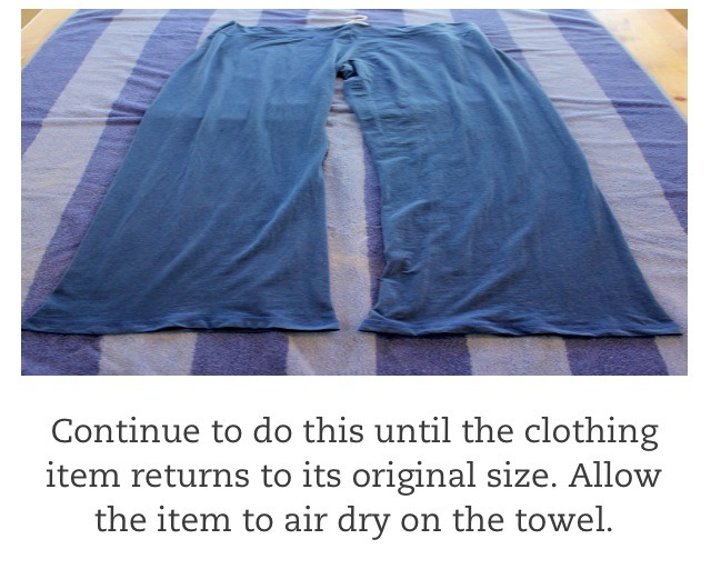 Clothes Dryer Shrinks Clothes ~ How to un shrink clothes that have shrunk in the dryer