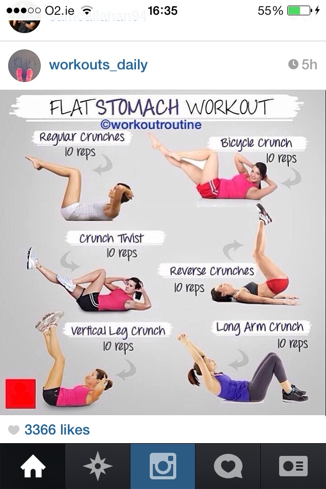 Flat Belly In 7 Days Workout
