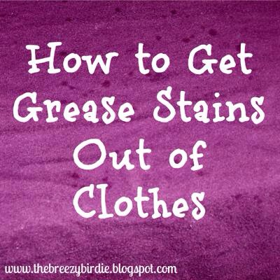 How to get grease stains out of clothes trusper for How to get oil stains out of a shirt