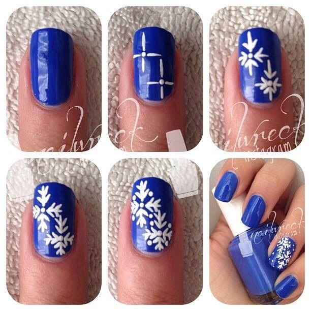 Simple Nail Art Using Toothpick: By Tina Le Felizzatto ( 48 Friends / 220 Followers