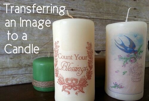 ✨Transferring An Image To A Candle✨