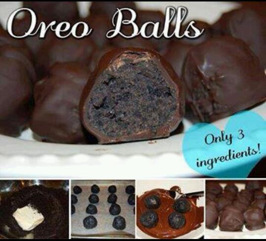 3 ingredient Oreo balls!!