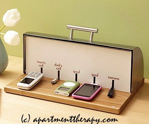 Charging Station Cute Way To Organize Chargers No More