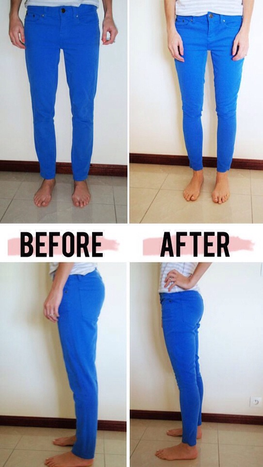Make Not So Skinny Jeans, Skinny Jeans!!!