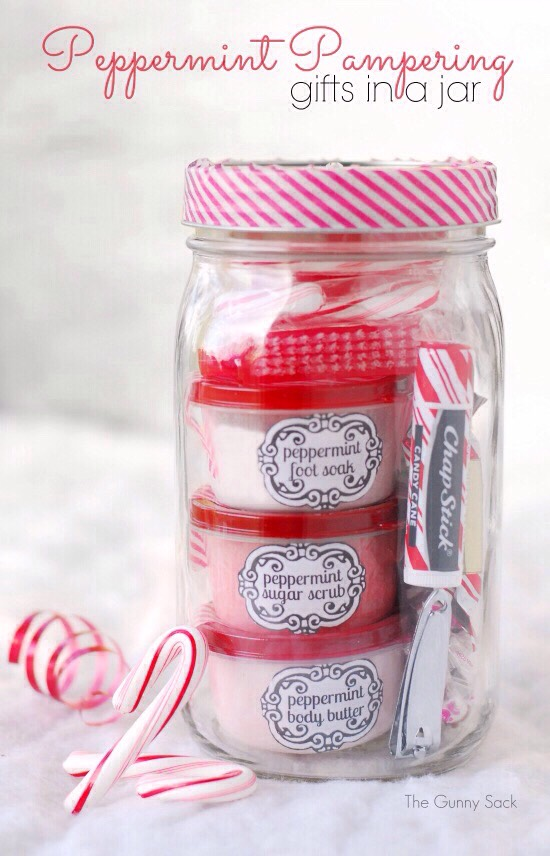 Christmas Gifts In A Jar Ideas