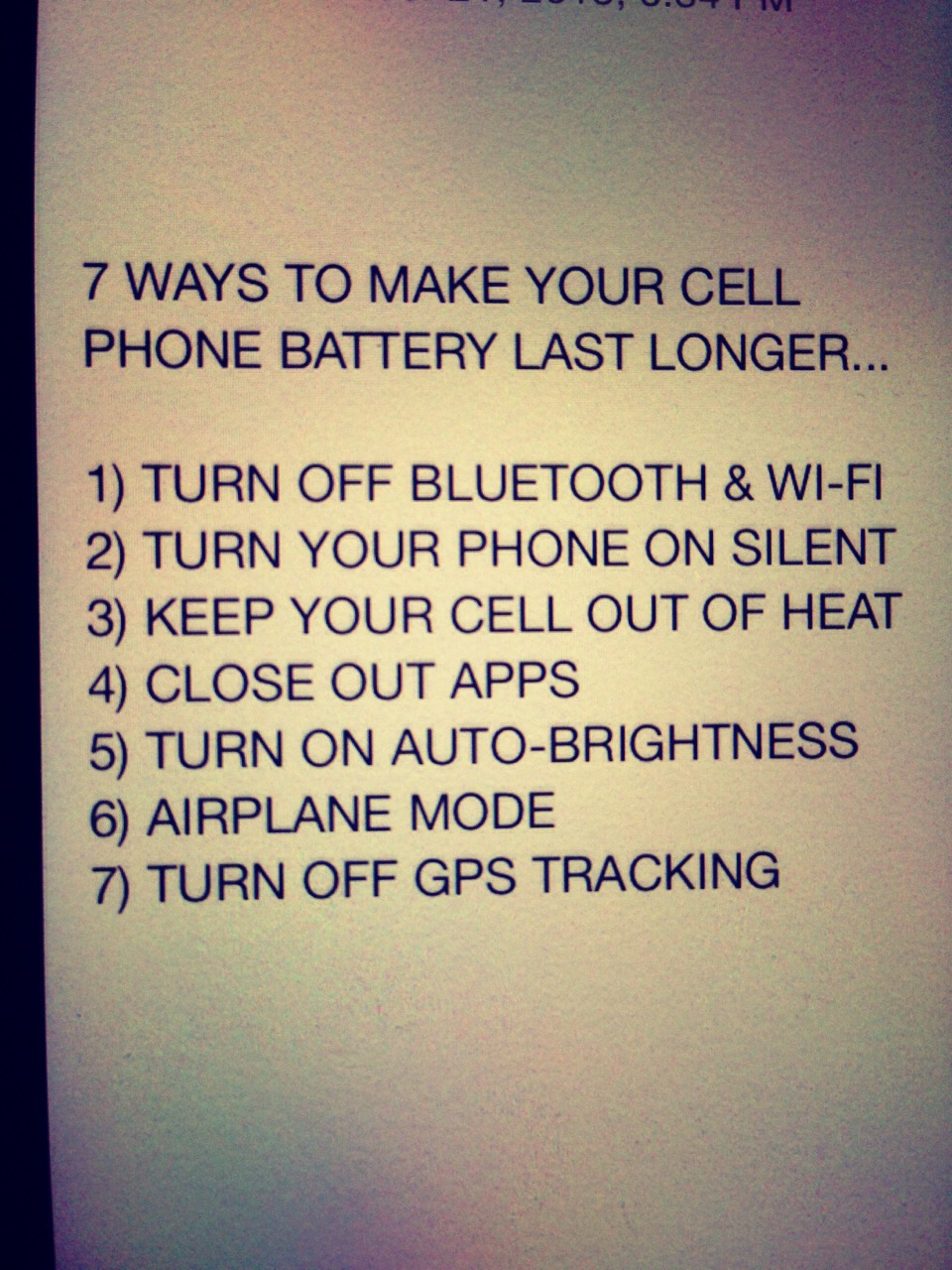 7 WAYS TO MAKE YOUR CELL PHONE BATTERY LAST LONGER ...