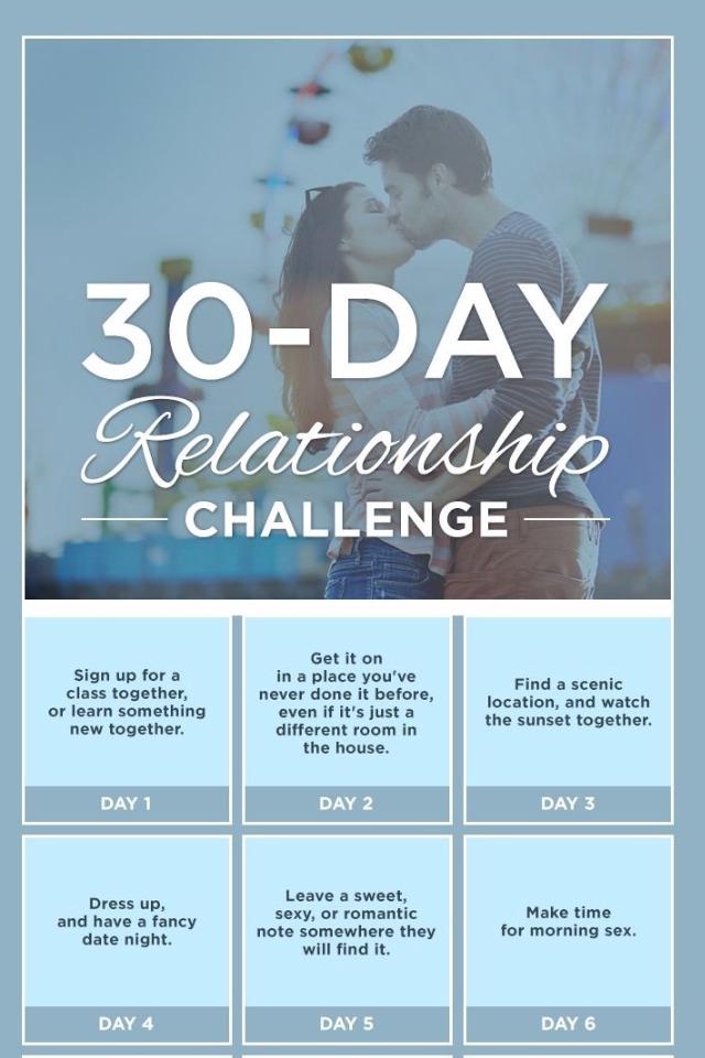 30 Day Relationship Challenge Trusper