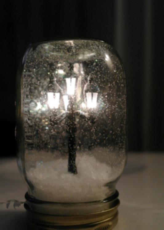 Easy DIY waterless Snow globes!! 🔮🔮