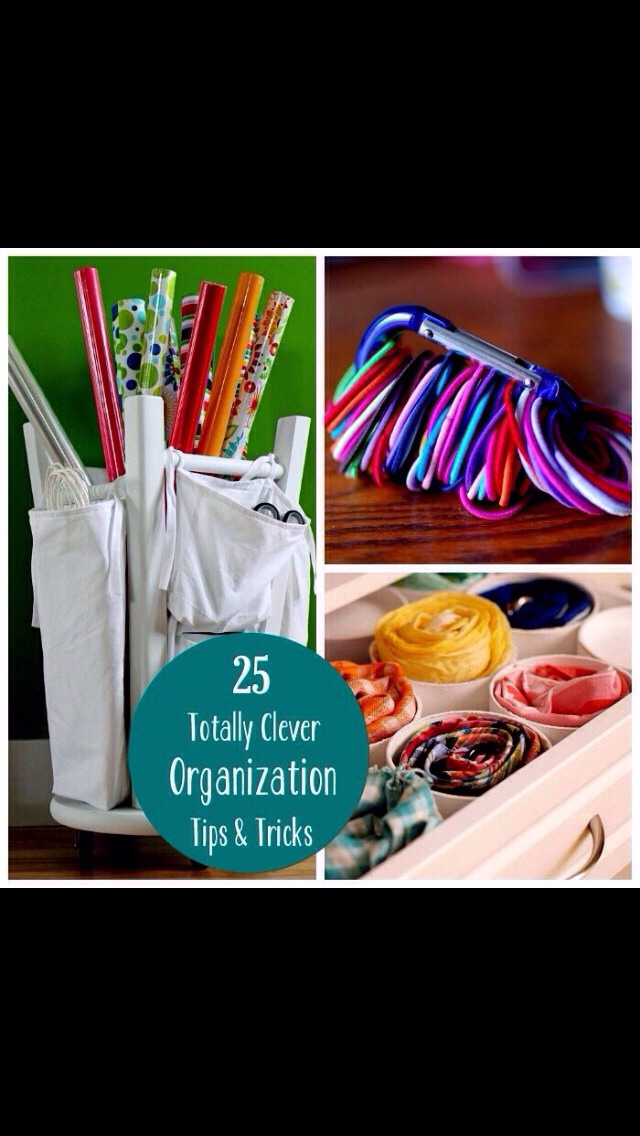 25 Organizational Tips And Tricks