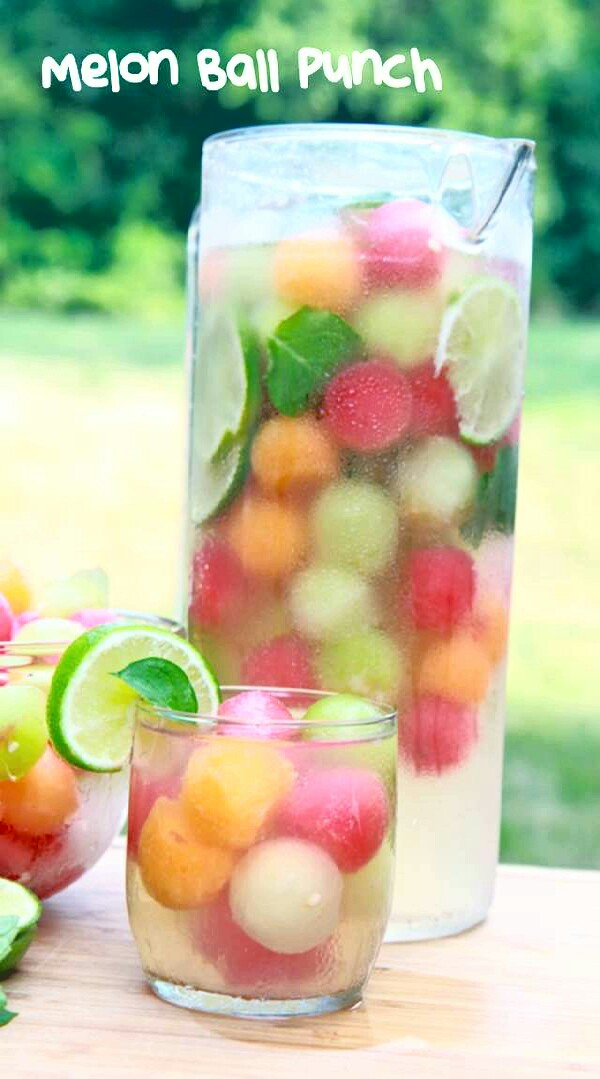 Coolest Ever Melon Ball Punch !!!!