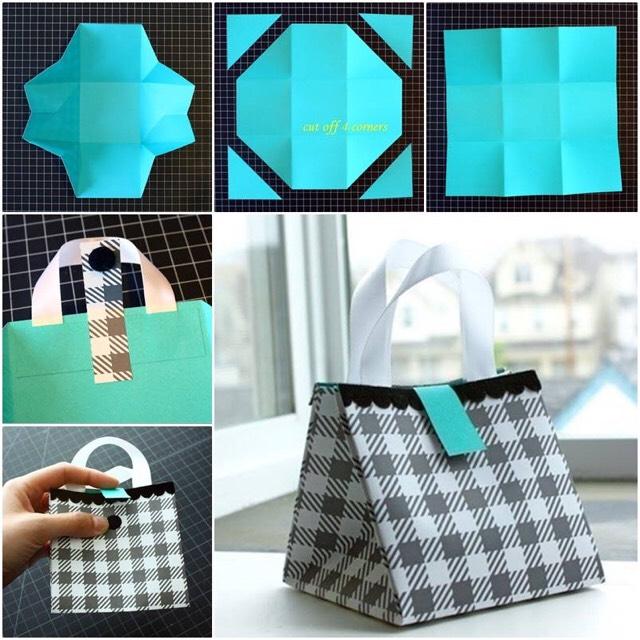 DIY Gift Bags. 😍