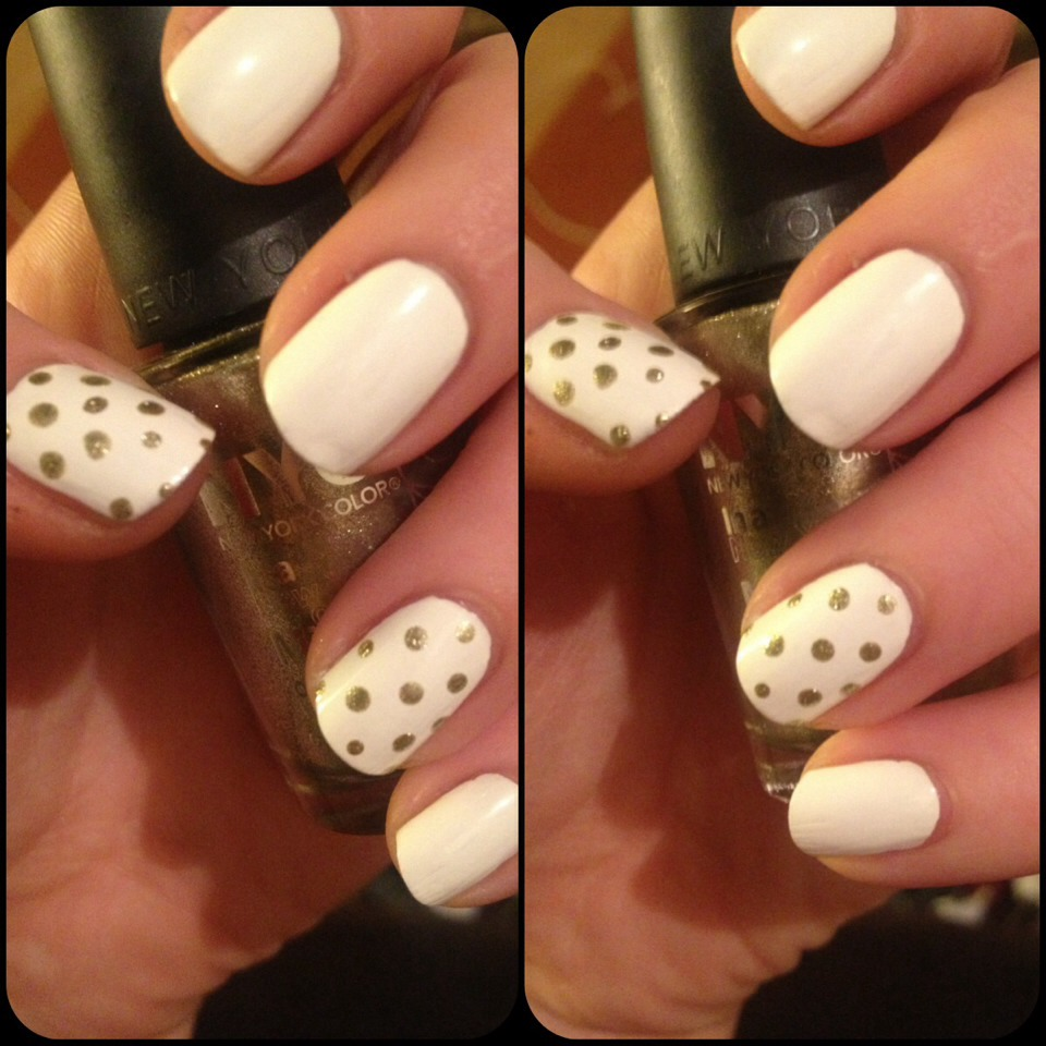 Quick And Classic Nail Art Design