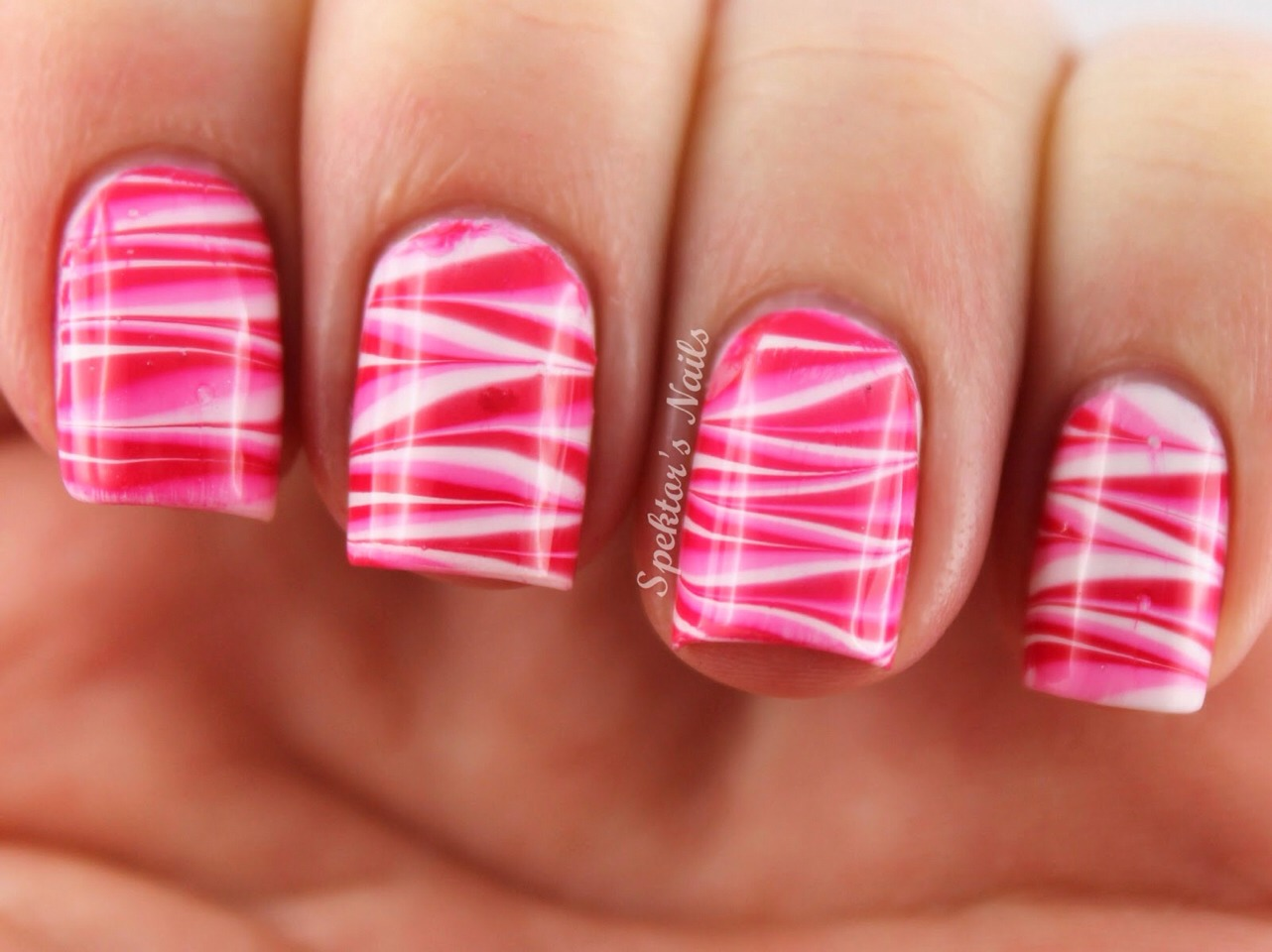 How To Create Water Marble Effect On Nails