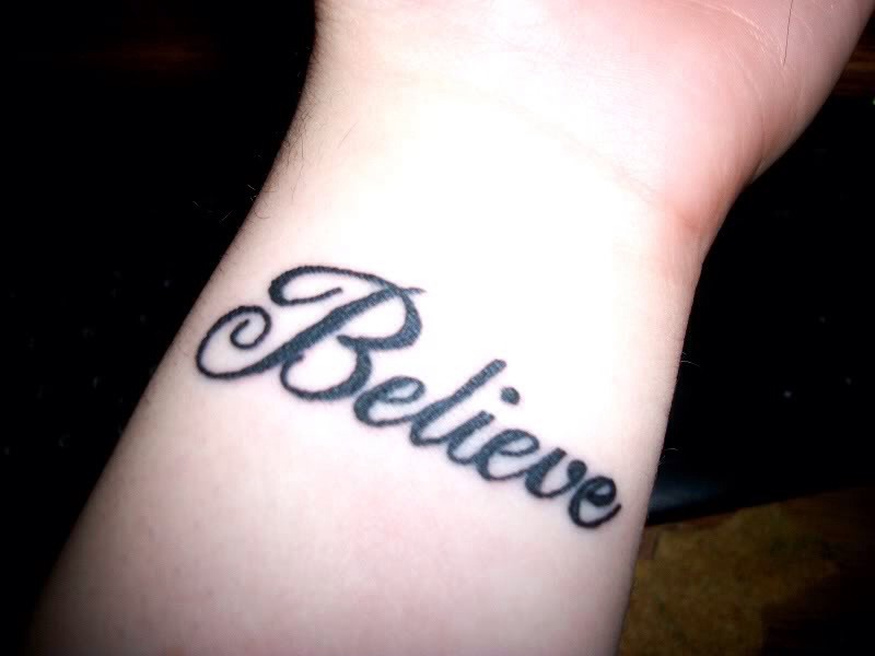 believe tattoos www imgkid the image kid has it