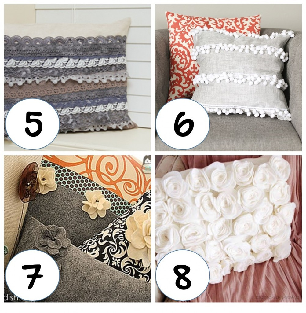 How To Make A Small Decorative Pillow : Standout Your Sofas With These Pillows DIY Trusper