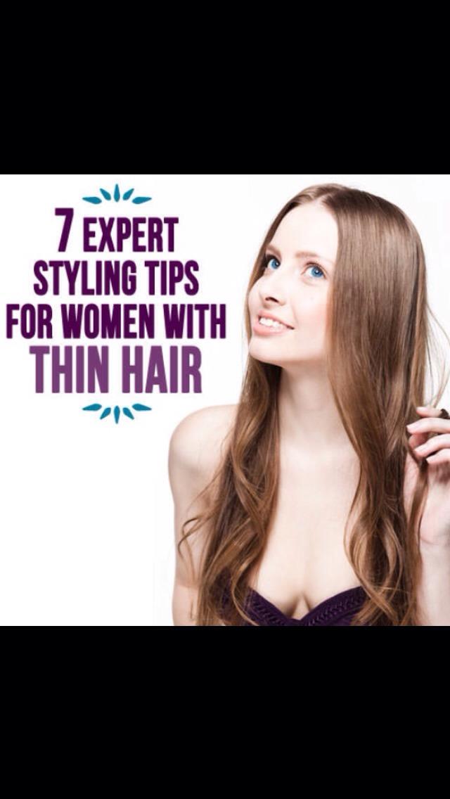 Seven Expert Styling Tips For Women With Thin Hair! 💁   Trusper