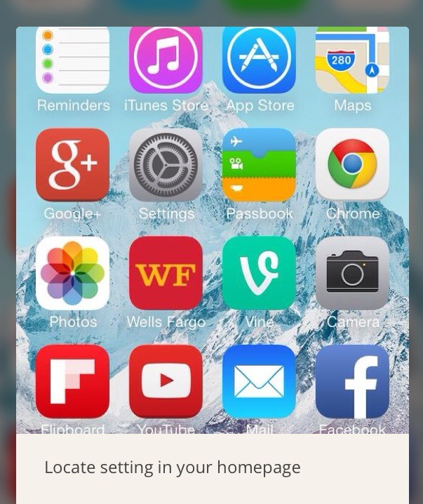 How To Lock An App In iOS 7