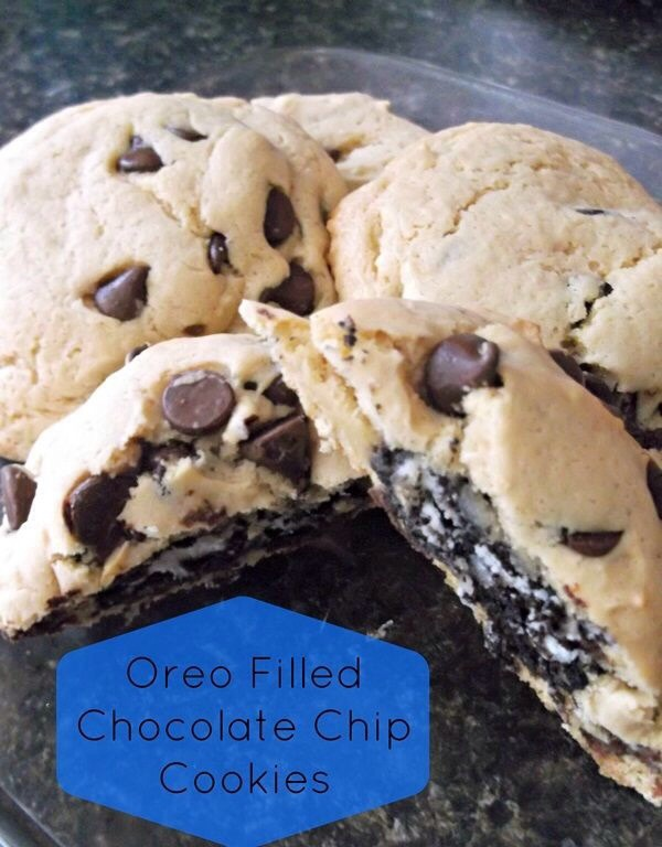 Oreo Filled Chocolate Chip Cookie | Trusper