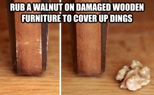 How To Fix Dings In Wooden Furniture Trusper