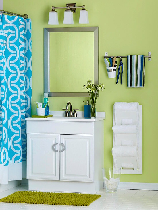 7 Creative Ideas For Bathroom Towel Storage: Creative Ways To Store Your Bathroom Towels -> Stylish